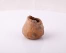 Miniaturowe naczynie gliniane, kultura przeworska, Dąbrowa Zielona